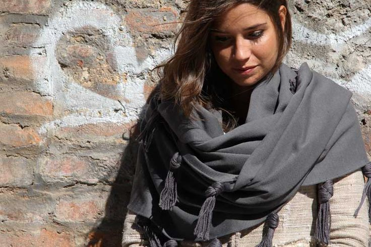 Let wrap by our shawl! Discover our world on www.marinafinzi.com