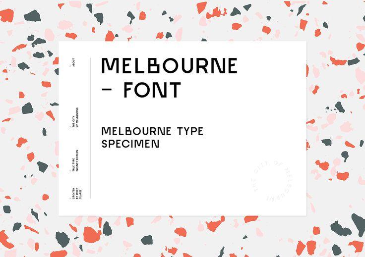 Melbourne Font — Free on Behance