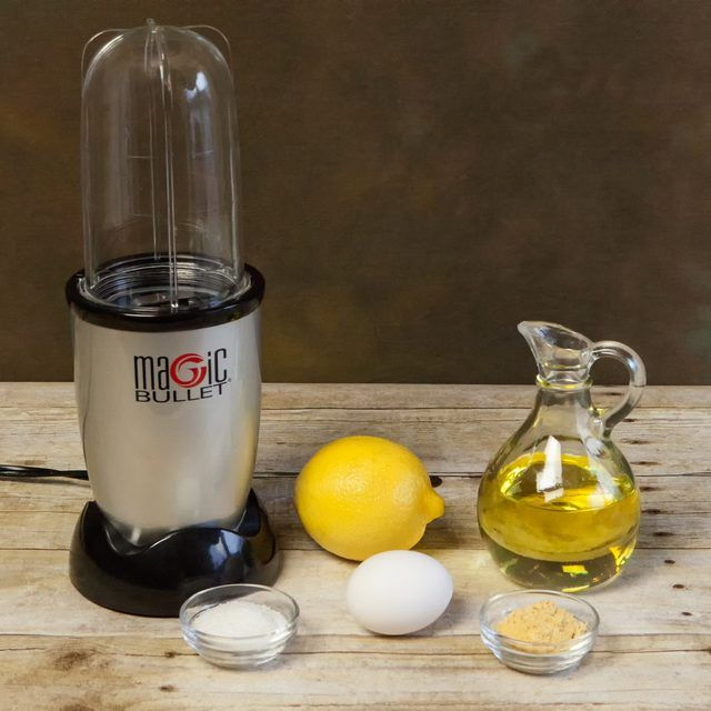 how to make mayonnaise in a nutribullet