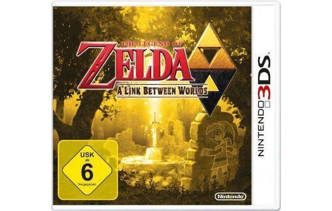 the legend of zelda: a link between - 3ds
