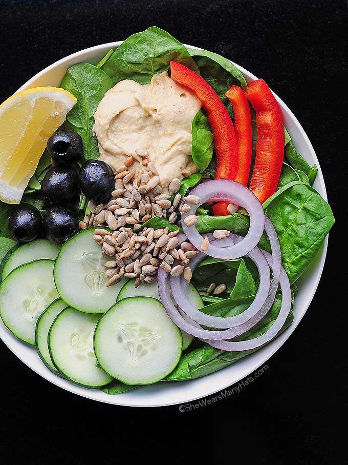 ... Power Salad won't leave you feeling sluggish after lunch.Healthy Salad