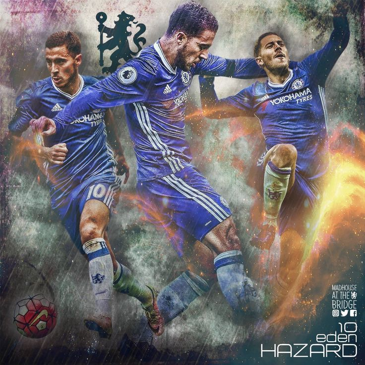 Eden Hazard ~ Chelsea FC #10  Posted by AJM Web Services - social media marketing services https://www.ajmwebservices.co.uk