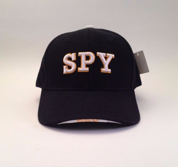 NWT SPY Hat Cap One Size Police FBI CIA Trucker #SPY #Trucker