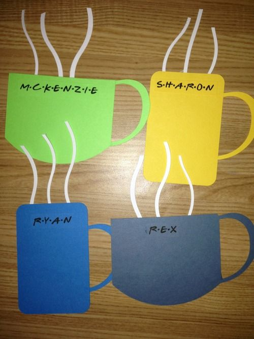 Friends door decs! I don't care when but i'm definitely doing this!