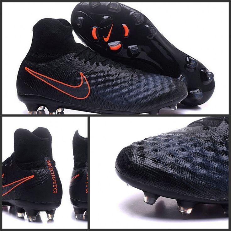 Offrant un tout nouveau niveau de créativité, les chaussures de football Nike Magista Obra II FG sont conçues pour contrôler le jeu sur les terrains secs.Nike Magista Obra 2 FG Scarpette da Calcio Uomo Nero Cremise Totale http://www.scarpedacalciomagista.com/