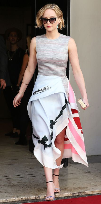 Look of the Day - May 19, 2014 - Jennifer Lawrence in Christian Dior from #InStyle lovely and unique