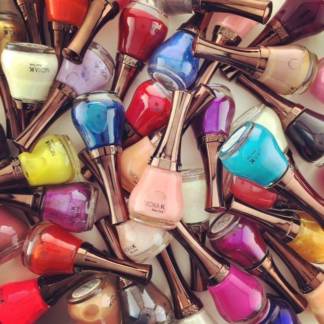Choose from 59 shades of Nicka K New York Nail Colour!
