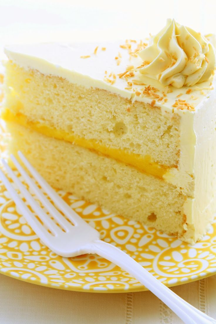 ❥ Hungry Cravings: Passion Fruit Cake for My Fourth Blogiversary