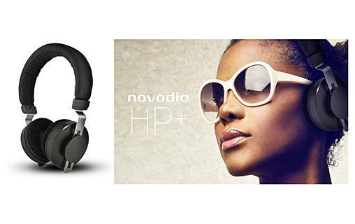 Profitez d'un son haute fidélité en toute élégance ! - Novodio HP+ - Casque audio haute fidélité avec micro et télécommande - #accessoire #high #tech #technologie #gadgets #audio #son #musique #casque #Novodio #Macway