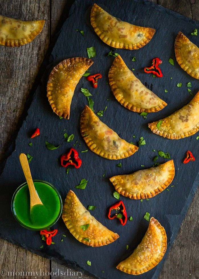 These Mini Spicy Pork Chorizo Empanadas are some of the most scrumptious and flavorful ever!!! Beware when making these… you won't be able to eat just one. http://mommyhoodsdiary.com