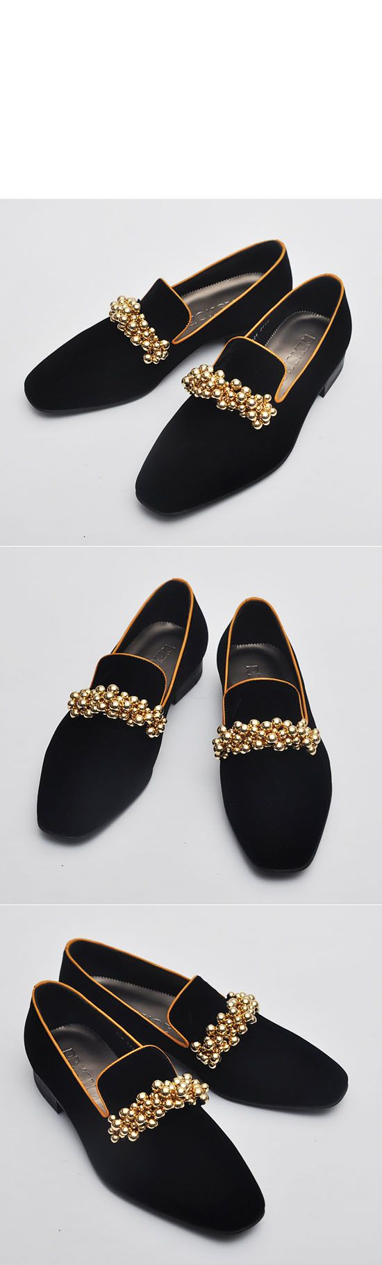 Shoes :: Lux Gold Tasselissimo Velvet-Shoes 96 - Mens Fashion Clothing For An Attractive Guy Look
