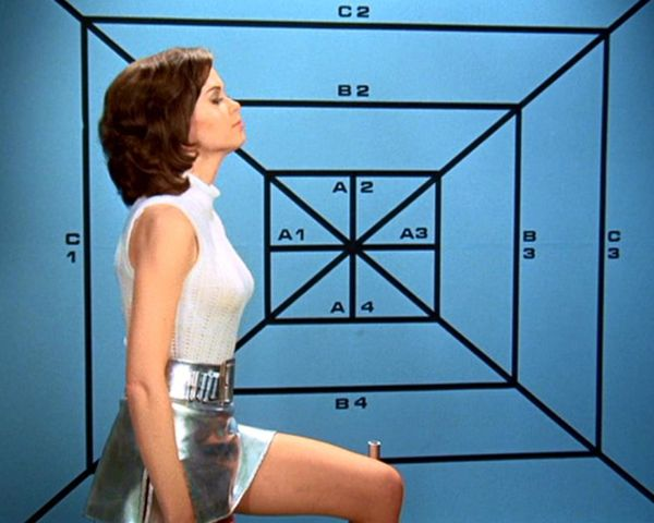 "Gabrielle Drake UFO | ガブリエル・ドレイク(Gabrielle Drake) ""What are you doing in HQ on your furlough, Mrs. Ellis? Oh, I see, sorry for that now!"""