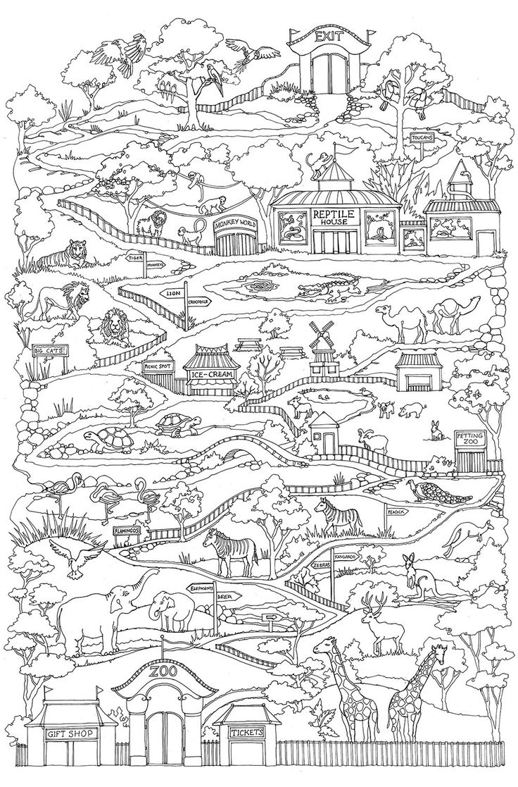 Coloring pages 321 - Vertical Worlds Coloring Pages