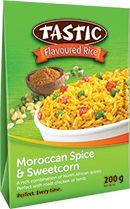 Moroccan Spice & Sweetcorn