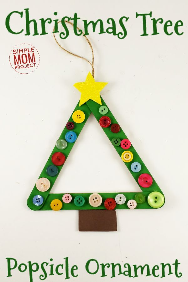 Click Now And Start A Family Tradition With This Easy And Fun Christmas Tree Popsi Christmas Sunday School Crafts Christmas Tree Crafts Christmas Sunday School