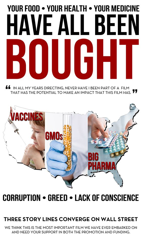 BOUGHT: The Hidden Story Behind Vaccines, Big Pharma & Your Food | Indiegogo