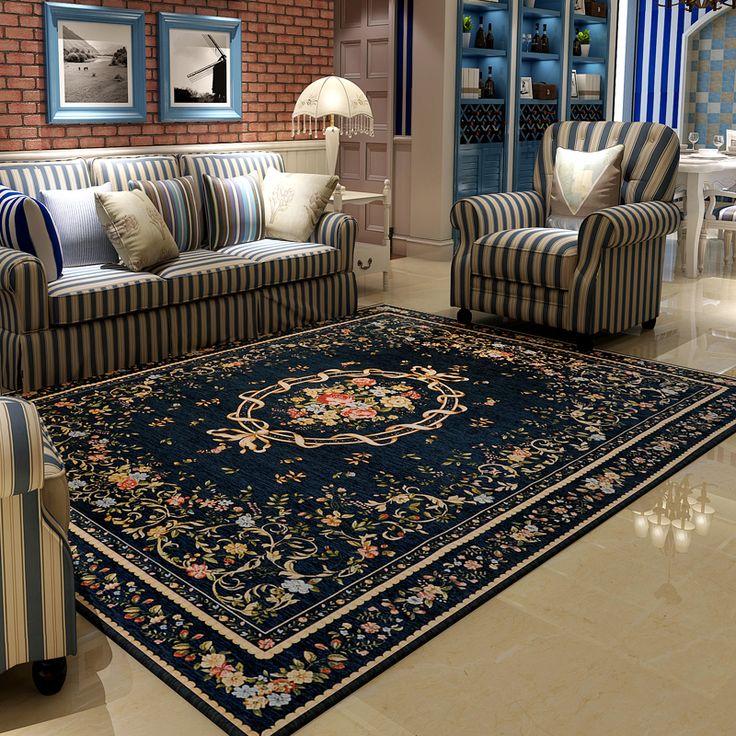 Image result for persian rug mediterranean home