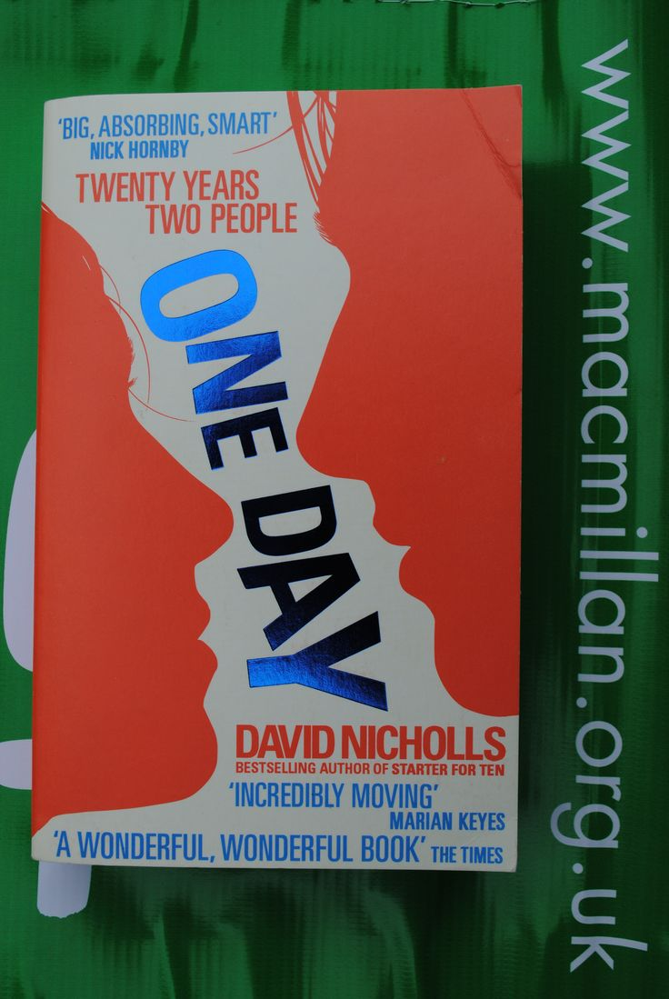 Item 059 – (PIC 1 of front cover) David Nicholls Signed copy of 'One Day' Kindly donated by David