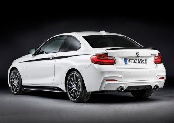 2014 BMW 2 Series Coupe with M Performance Parts Images 600x427 2014 BMW 2 Series Coupe with M Performance Parts Review and Design