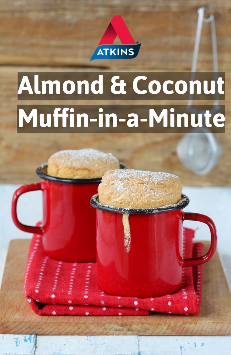 Almond And Coconut Muffin In A Minute Recipe Mug Recipes