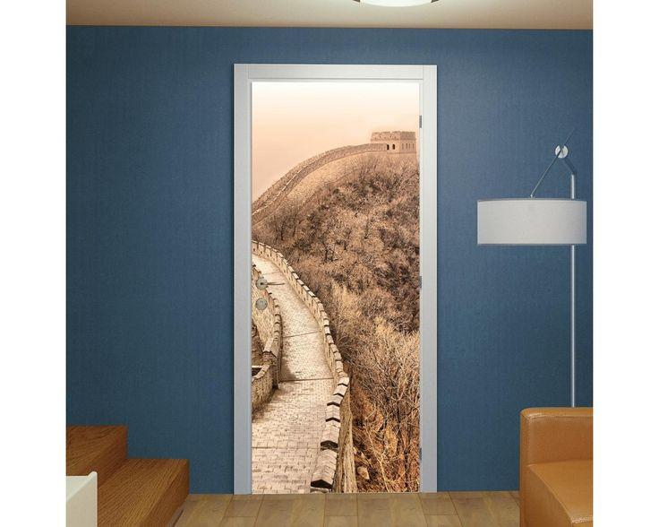 Great wall of China, αυτοκόλλητο πόρτας , δείτε το!