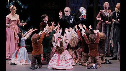 NYCB - George Balanchine's The Nutcracker. Always wanted to see the NY ballet company's performance of Cinderella too