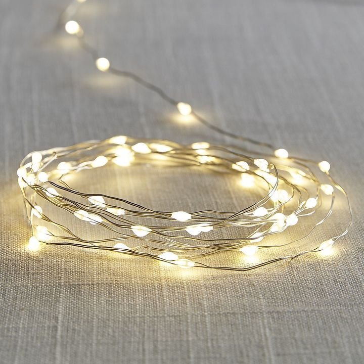 Outdoor LED Solar String Lights (affiliate pin- I may receive compensation when you click on this pin)