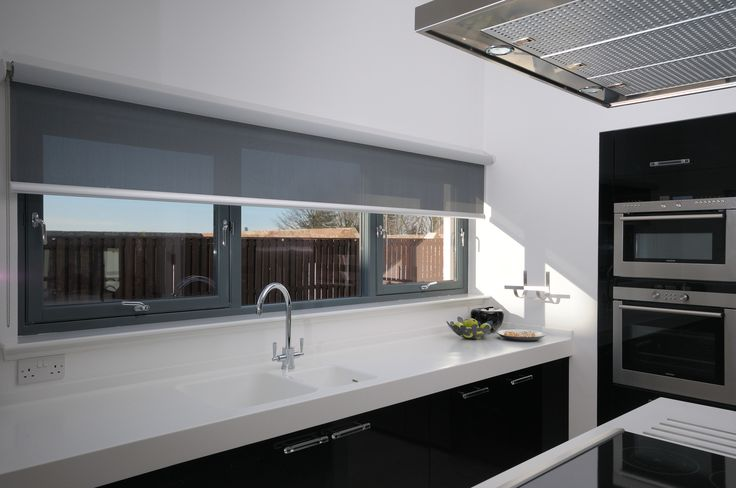 Our Roller Blind Systems can be fitted on many different window sizes and shapes-4910: Roller Blind System