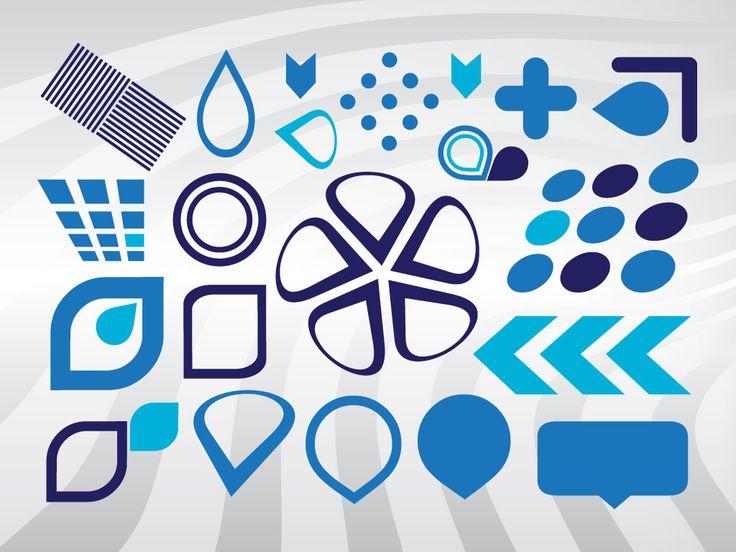vector shapes elements graphic design pinterest vector shapes