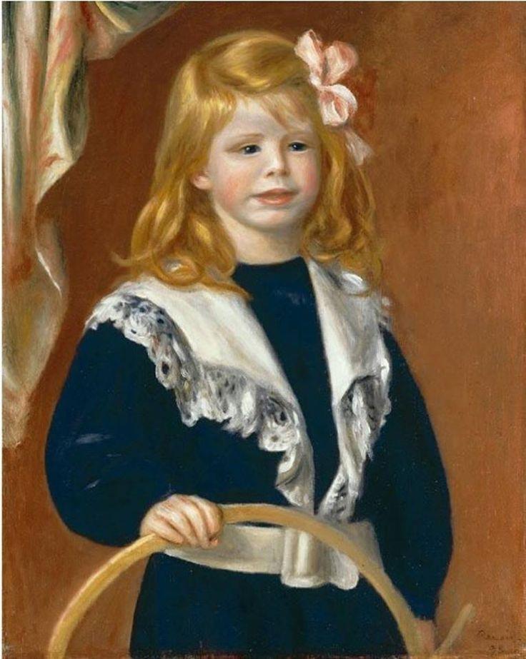 Pierre-Auguste Renoir - Portrait de Jean Renoir, l'enfant au cerceau, 1898
