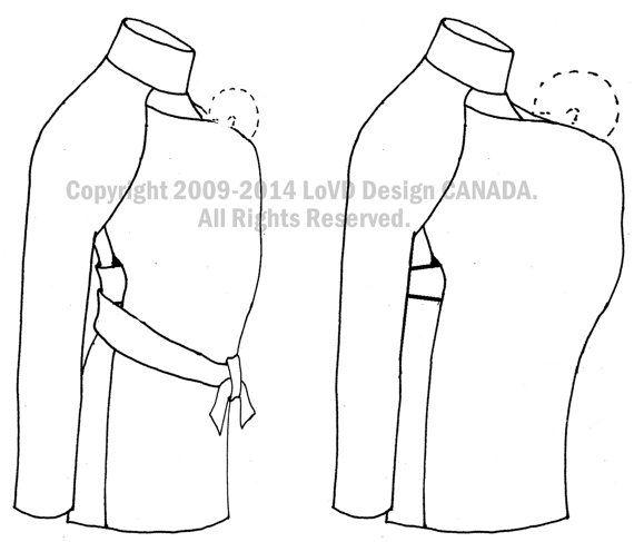 Maternity. Maternity Jacket. Maternity Coat. by babywearing