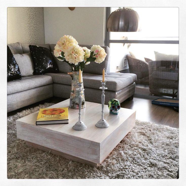 Mesa de centro o sala. #mesa #MiDE_SC #madera #diseño