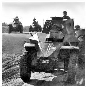 Csaba Armored Car Column, Hungary