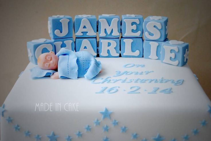 11 Best Christening Amp Baby Shower Cakes By Made In Cake