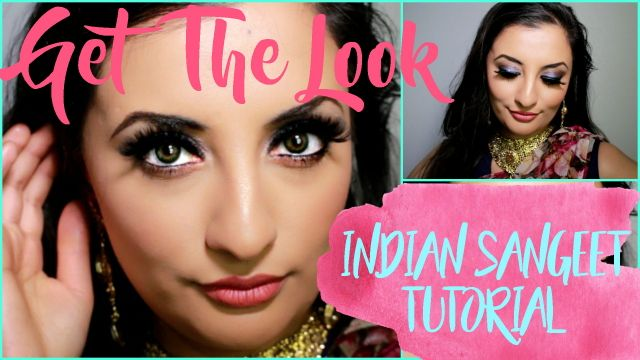 Indian Sangeet Makeup Tutorial  www.amindhillon.com/blog