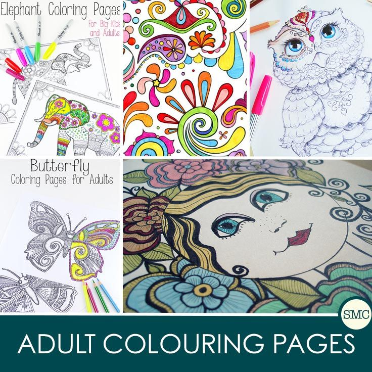 Amazing Adult Coloring Books Free Printable Pages To Try