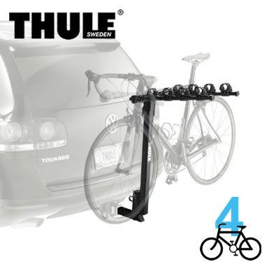 Thule 956 - Parkway - 4 Bike Hitch Rack - For 2 Inch