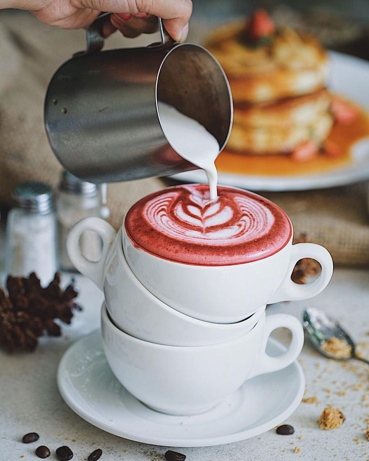 Have You Tried Our Red Velvet Latte Latteart Coffee Latte Art Coffee Drinks Coffee Recipes