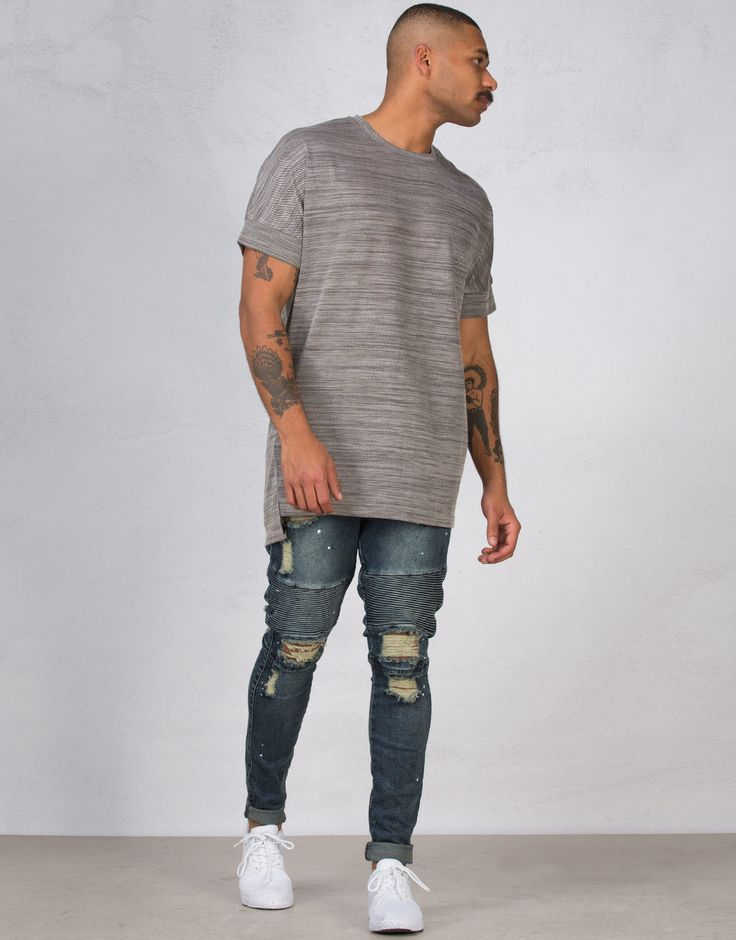 Absent Broken Tyrin Destroyed Jeans | Men's Jeans | Hallenstein Brothers