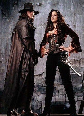Van Helsing (2004) #CostumeDesign: Gabriella Pescucci & Carlo Poggiolo worn by Hugh Jackman and Kate Beckinsale as Anna Valerious