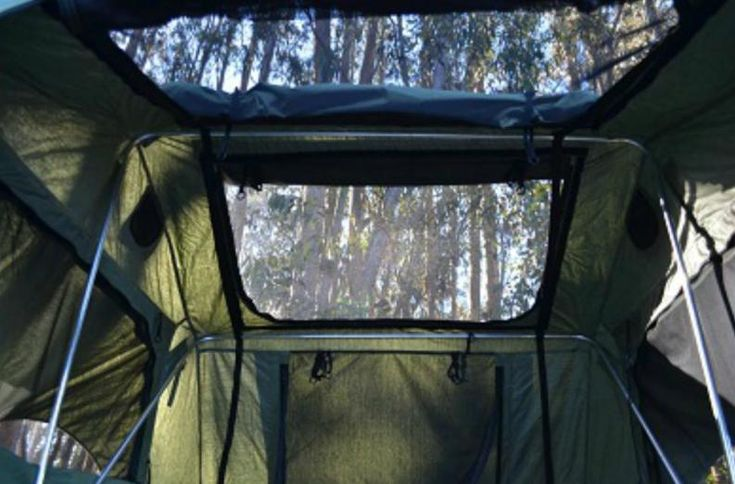 Roof Top Camping Tent With Stargazing For Car Top Jeep