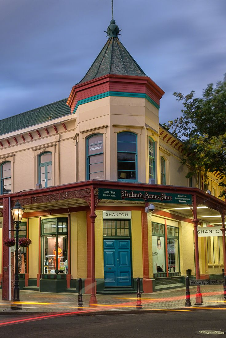 Visit www.whanganui.nz for accommodation in Whanganui, New Zealand. Being one of NZ's oldest cities, you can enjoy saying in some unique heritage buildings with great historical stories - such as the Rutland Arms Inn. via @visitwhanganui