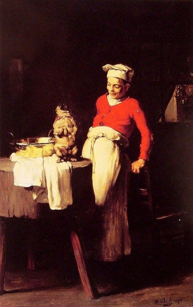 The Cook And The Pug