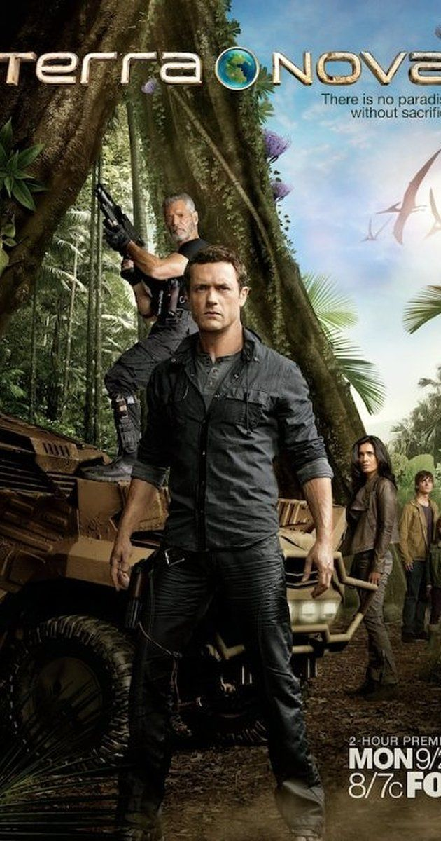 Created by Kelly Marcel, Craig Silverstein.  With Jason O'Mara, Shelley Conn, Christine Adams, Allison Miller. Centers on the Shannons, an ordinary family from 2149 when the planet is dying who are transported back 85 million years to prehistoric Earth where they join Terra Nova, a colony of humans with a second chance to build a civilization.