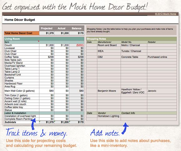 Best 25+ Home Budget Spreadsheet Ideas On Pinterest | Home Budget