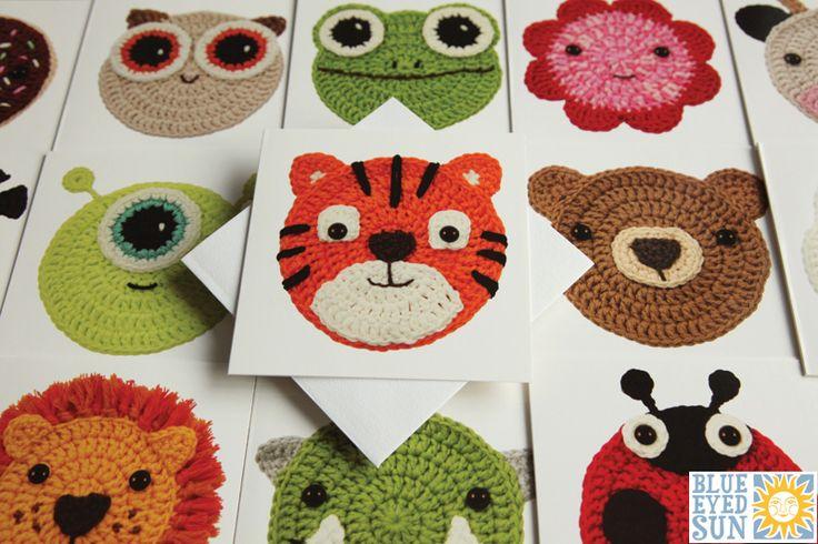 Crochet Critters - Blue Eyed Sun