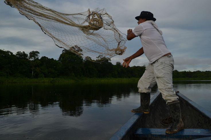 Darío, uno de los más simpáticos y queridos de la comunidad, nos enseña su técnica para pescar