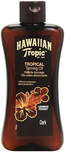 Hawaiian Tropic by Hawaiian Tropic Tanning Oil Dark 200ml has been published at http://www.discounted-skincare-products.com/hawaiian-tropic-by-hawaiian-tropic-tanning-oil-dark-200ml/