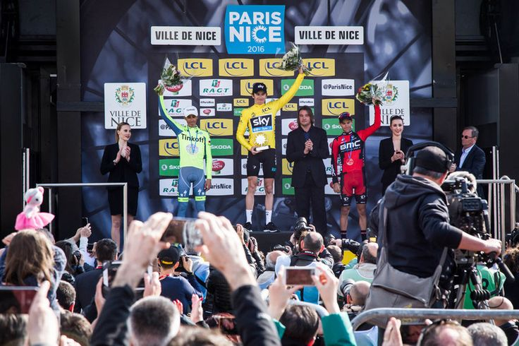A very unique Paris-Nice race with exciting final Stage 7! @teamsky   #cycling #procycling #ParisNice  ©Ivan Blanco 2016