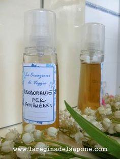 Deodorante per ambienti fatto in casa